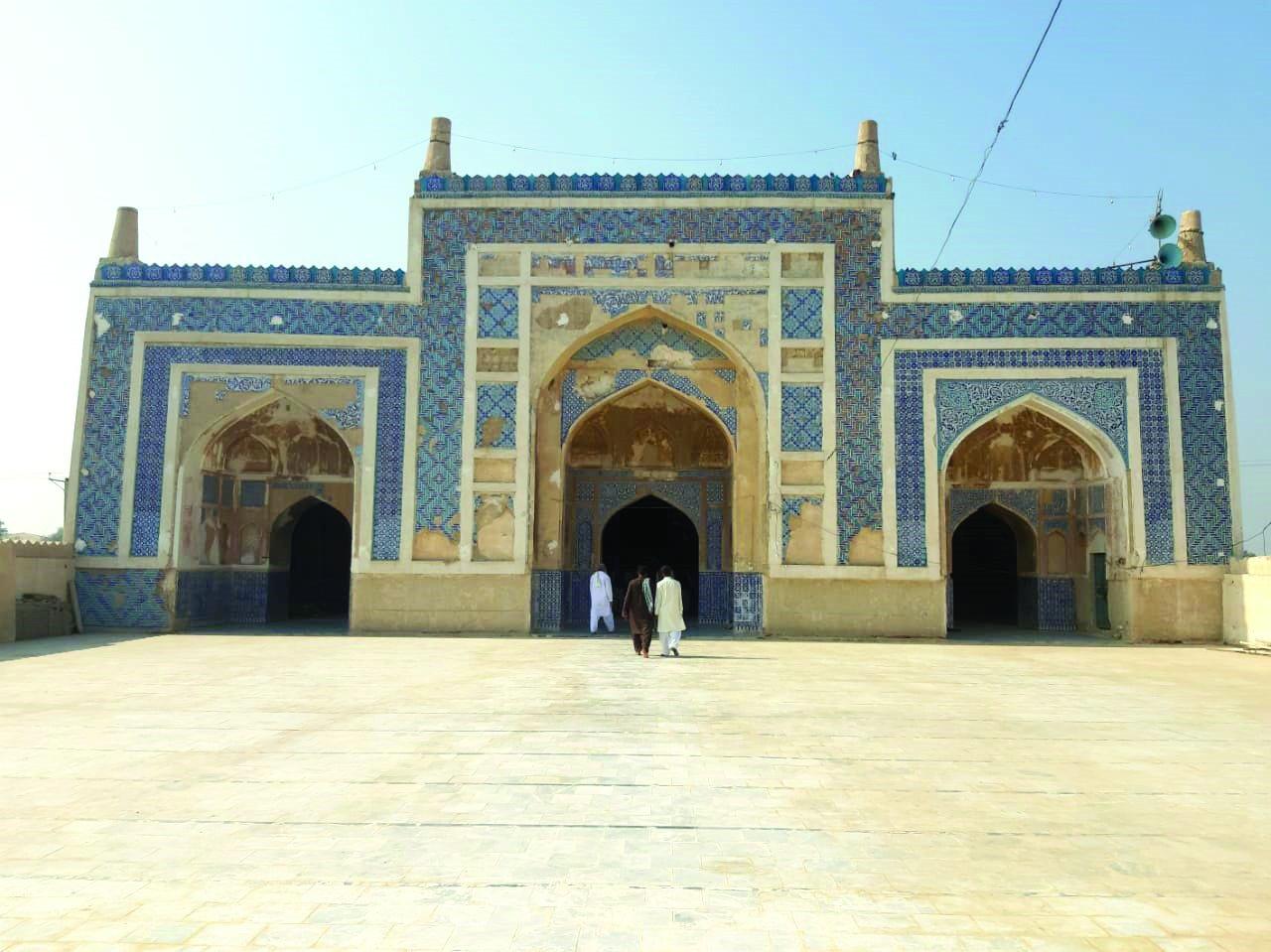 history neglected restoring khudabad mosque losing heritage
