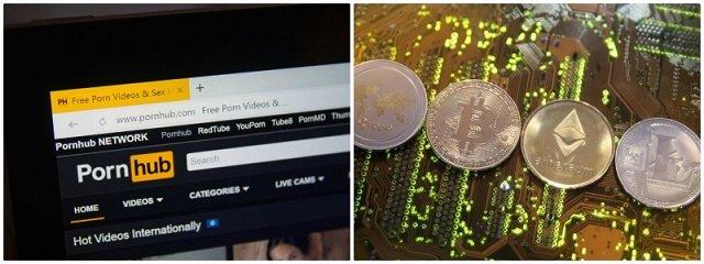 pornhub embraces cryptocurrency