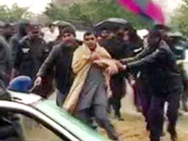 mnas among 30 arrested for pro pashteen protest in islamabad