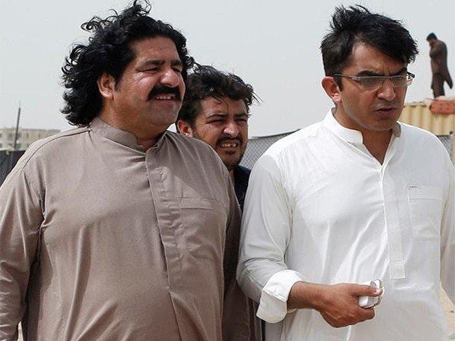 parliamentarian mohsin dawar released from custody