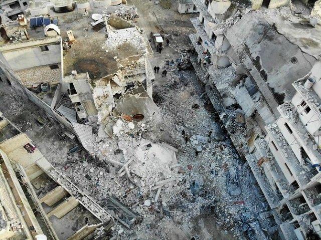 russian strikes kill 10 civilians in syria s idlib