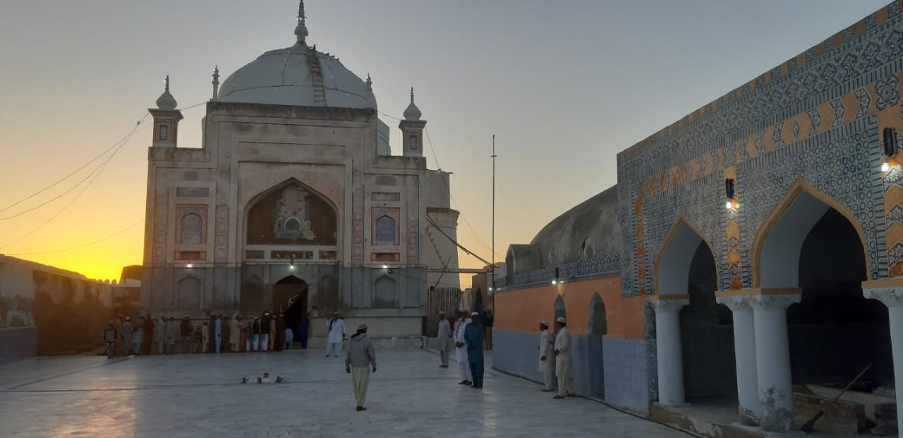 a long wait historic shrine reopens for devotees in sindh