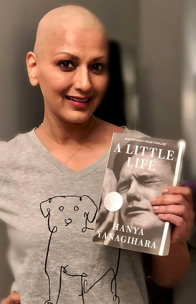 sonali bendre shares her journey with cancer in emotional video