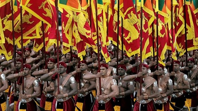 tamil language anthem dropped from sri lanka independence party