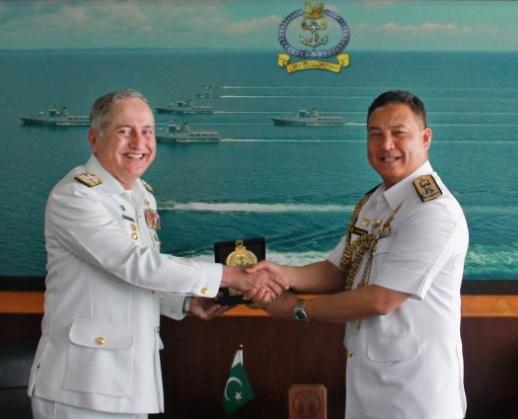 naval chief burnei military leadership discuss regional security