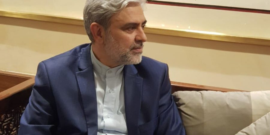 Iranian Ambassador Mohammad Ali Hosseini