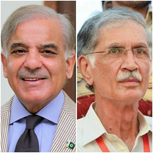 twitter spat shehbaz khattak debate alleged peshawar brt corruption