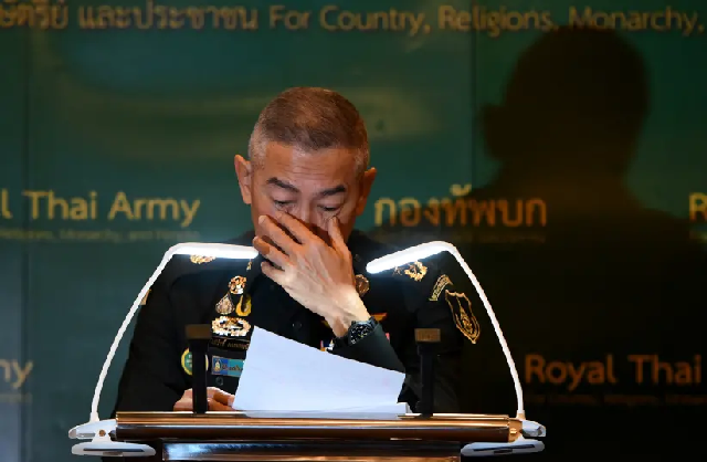 thai army chief tearfully apologises for mass shooting by soldier