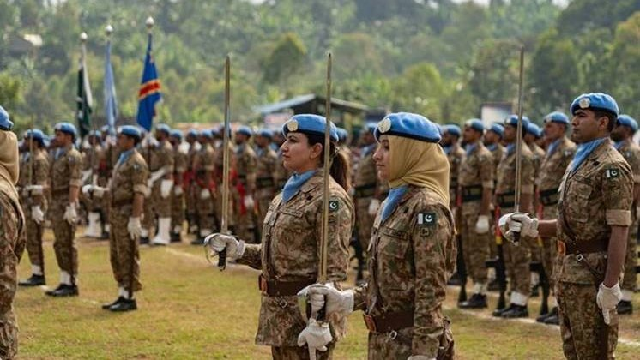 top us diplomat alice wells inspired by pakistani women serving in un peacekeeping mission