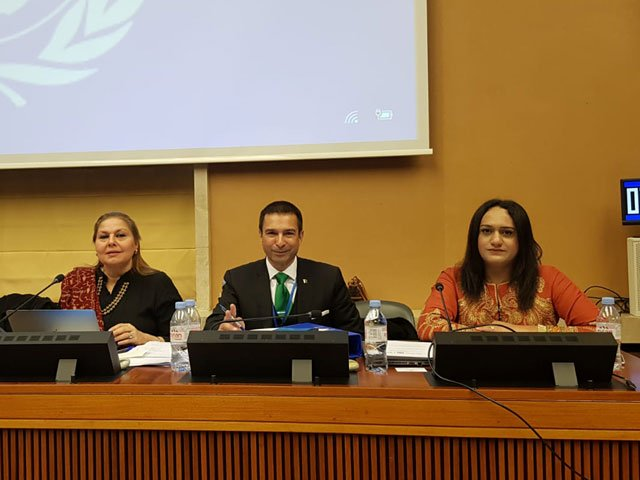 in a first transgender woman represents pakistan at un