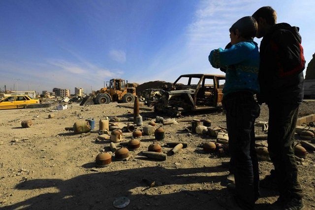 syria army finds mass grave near damascus