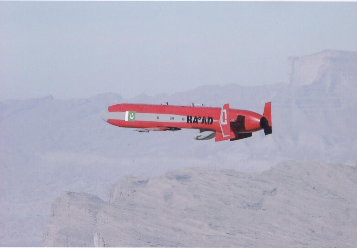 pakistan conducts successful test of air launched cruise missile