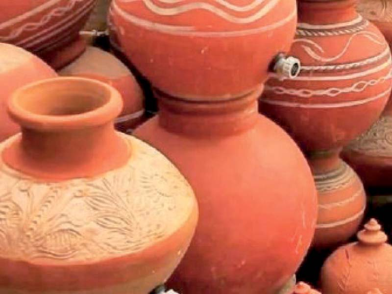 home to the dying art of pottery making