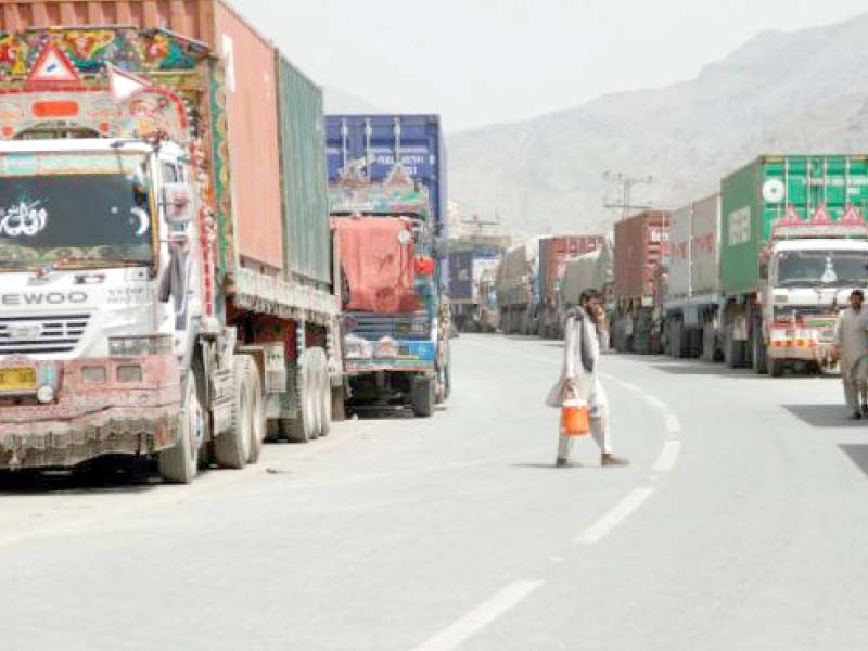 afghanistan bound 15 000 containers stuck in pakistan