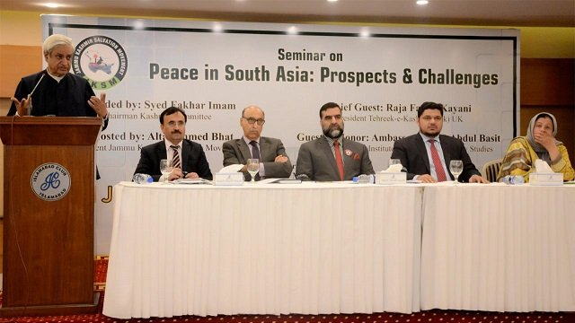 regional peace not possible without resolving kashmir conflict