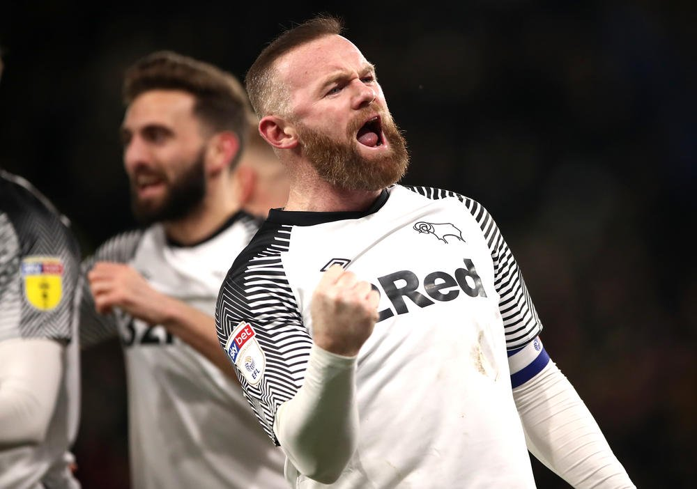 rooney scores in 500th league game