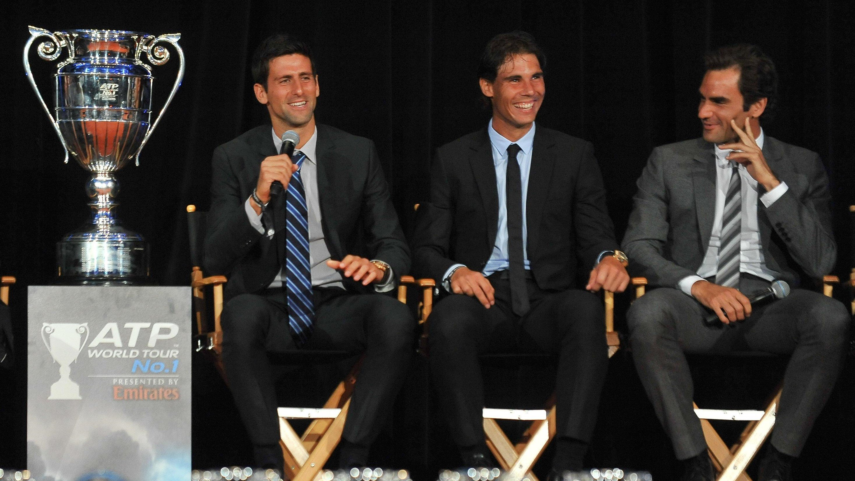 djokovic reveals nadal federer and him have a secret whatsapp group