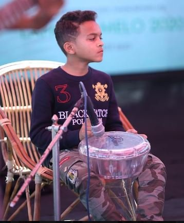 13 year old percussionist who stole hearts at lahooti melo