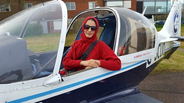 sarah qureshi says engine will eliminate negative impact of commercial air carriers on stratosphere photo pakistan aerospace council