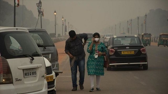 south asia southeast asia western asia suffer from most fine particulate matter pollution overall says report photo anadolu agency