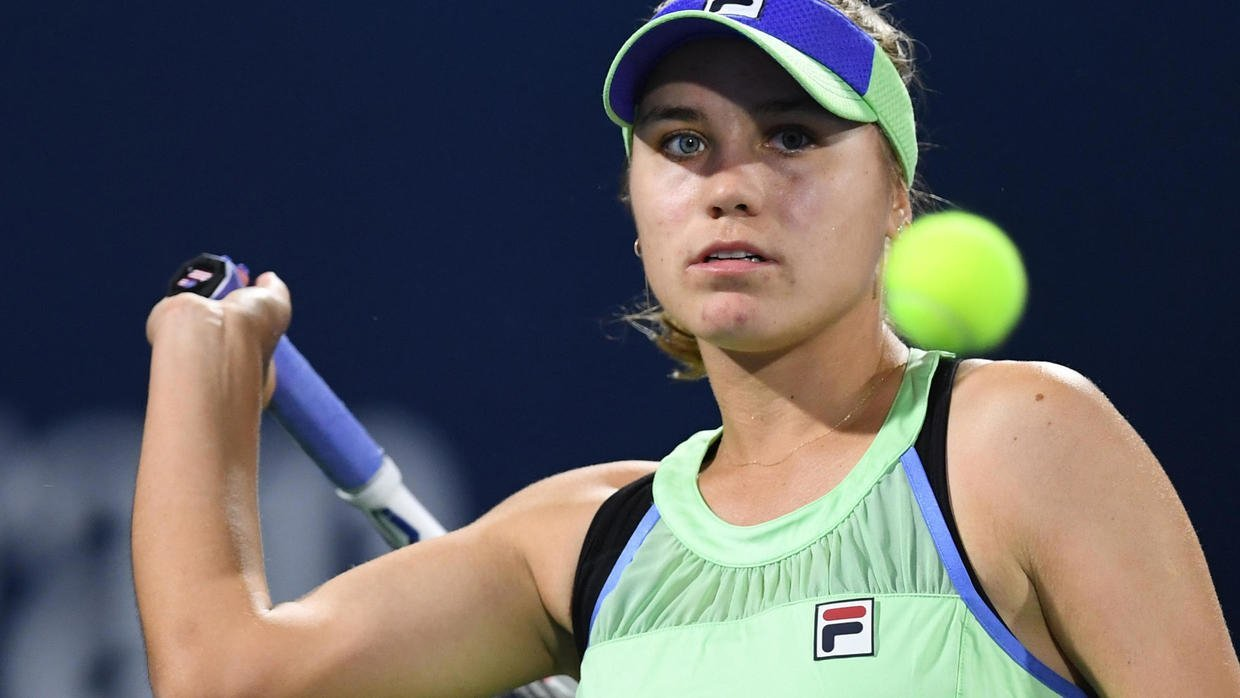 kenin loses again barty eases through in doha
