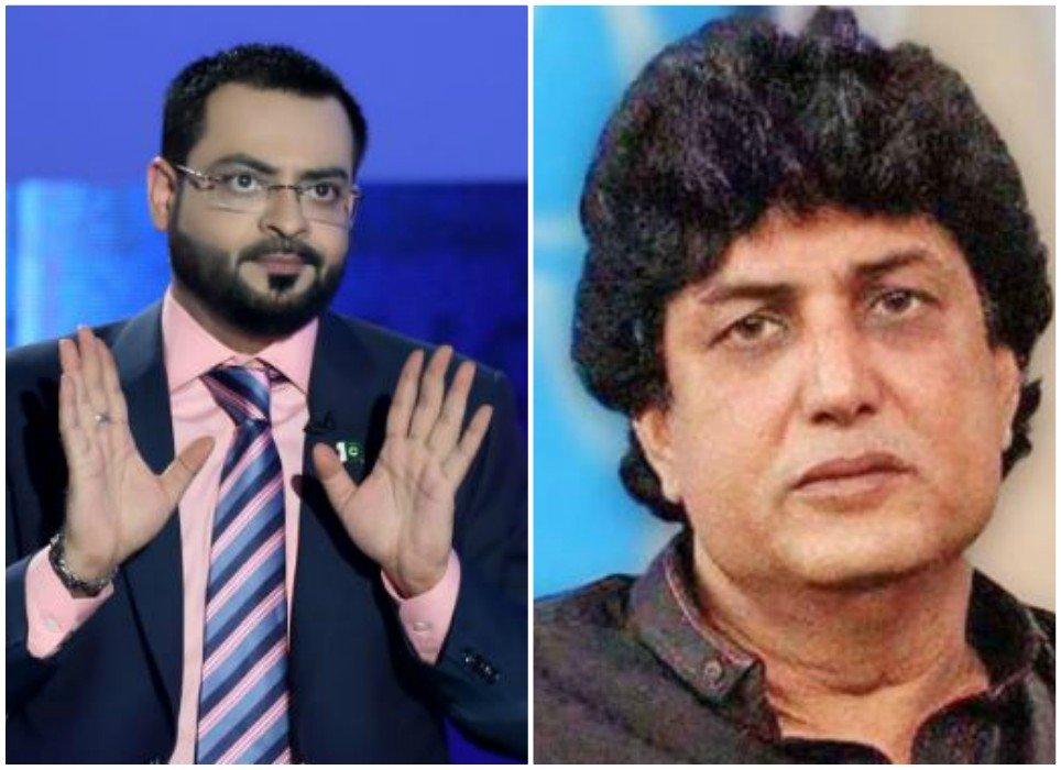 khalilur rehman qamar should be put in an isolation ward aamir liaquat