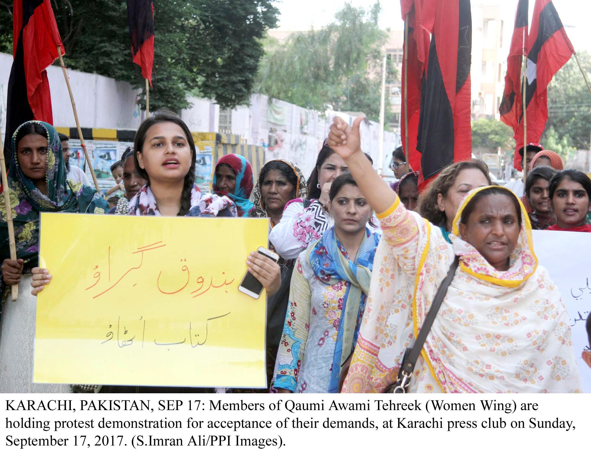 sindh raises its voice for murdered girls