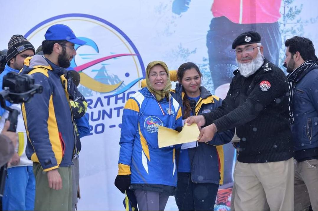 sohail wins first swat snow marathon race