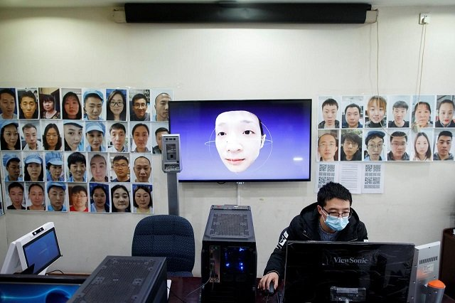 even mask wearers can be id d china facial recognition firm says