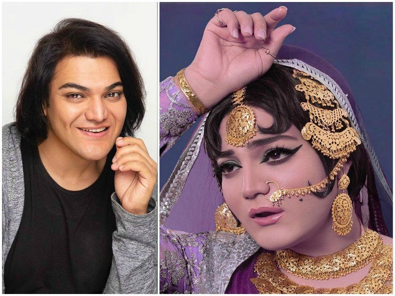 shoaib khan pays tribute to the late rani jee with latest look