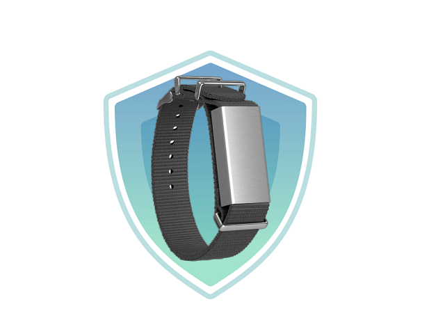 fighting coronavirus this smartband vibrates every time you touch your face