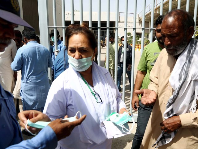 One of the patients is from Hyderabad while other one detected from Karachi. PHOTO: FILE