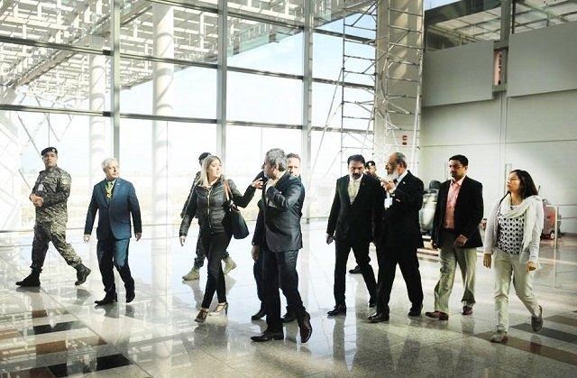 us tsa team reviews islamabad airport facilities
