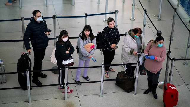 to limit coronavirus exposure us airport security screeners push for better masks