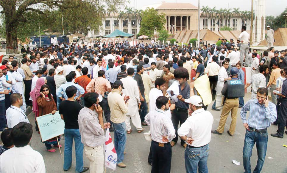 contempt plea filed against doctors protest