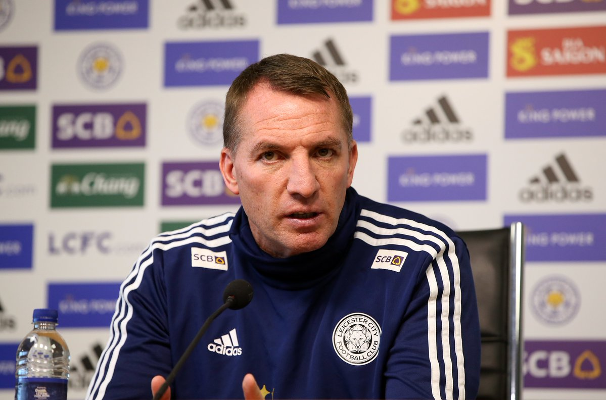 leicester players show symptoms of coronavirus rodgers
