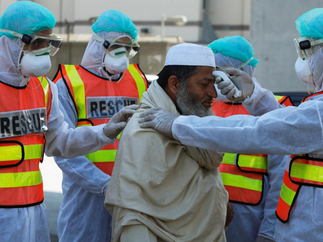 One patient returned from Saudi Arabia while the other's father has travel history of Europe. PHOTO: AFP/FILE