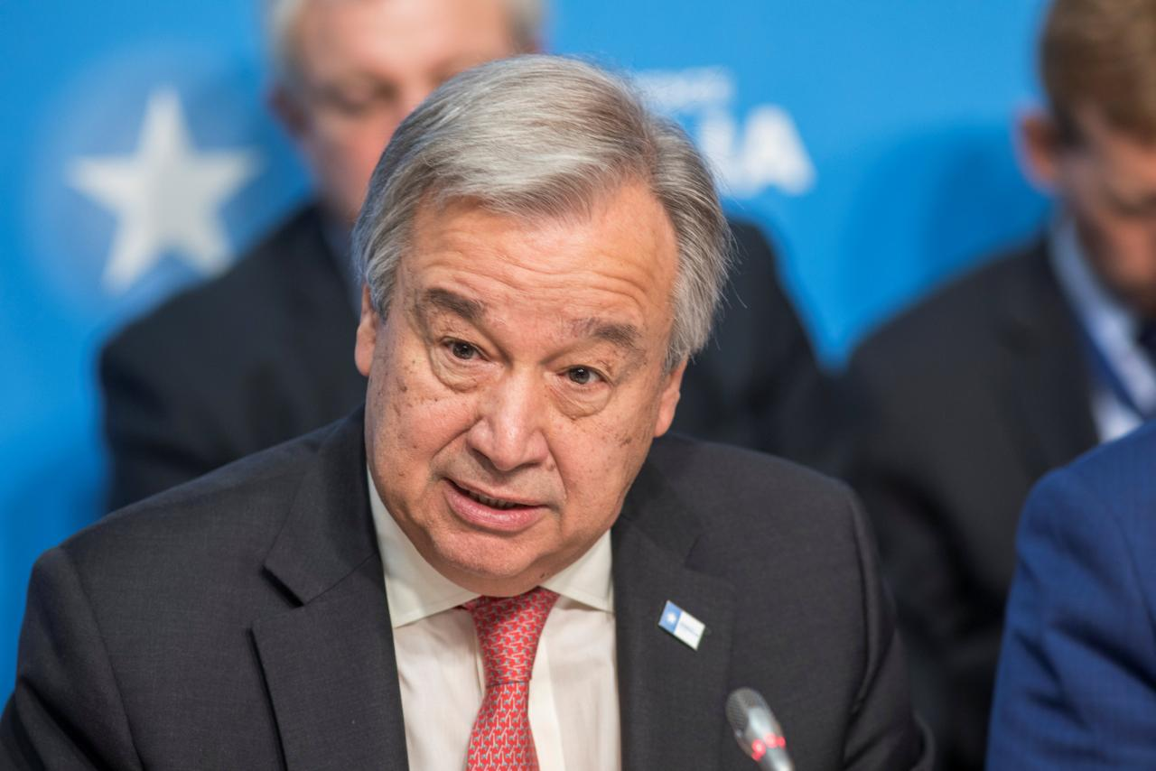 UN Secretary General Antonio Guterres. PHOTO: REUTERS