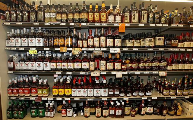 bid to smuggle liquor foiled