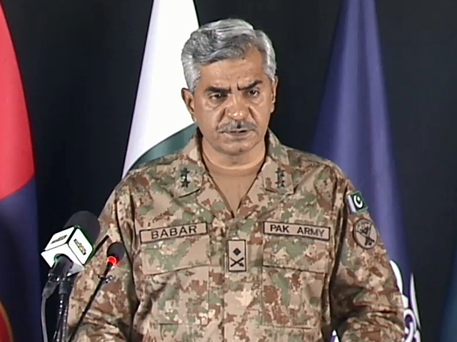 Real border is between human and COVID-19 which we need to shut, says Major General Babar Iftikhar . PHOTO: ISPR