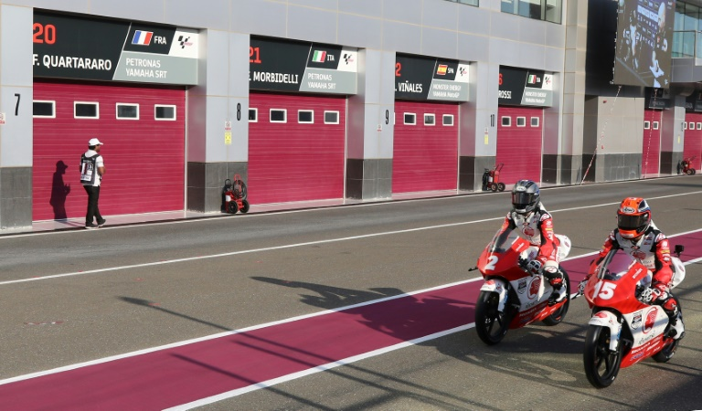 motogp grapples with problems of interrupted season