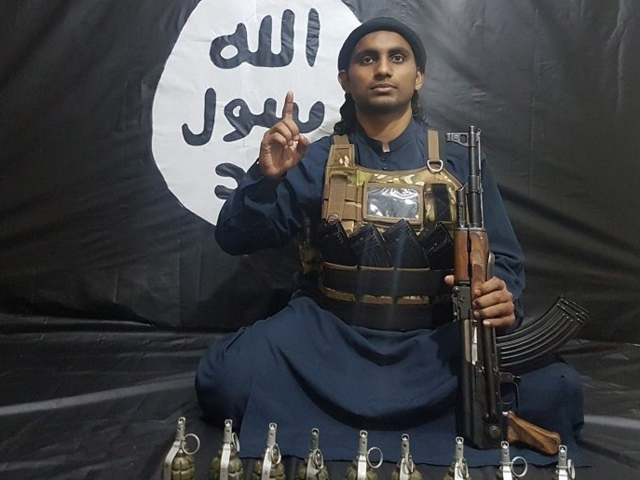india today reports that is attacker abu khalid al hindi is actually 21 year old muhammad muhsin from kerala photo india today
