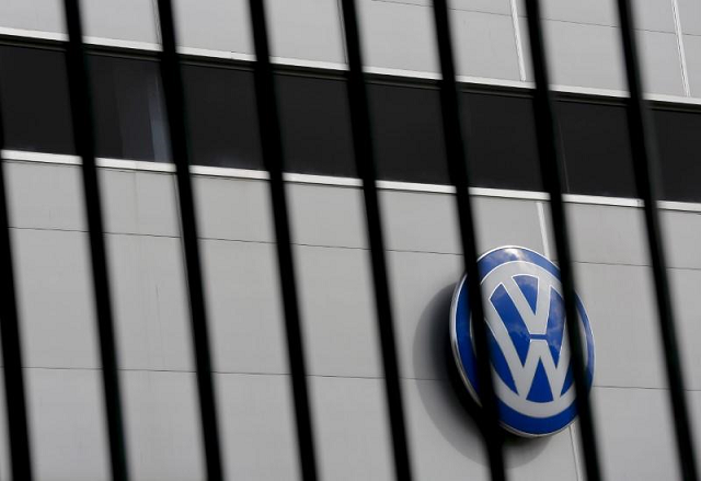 a logo of vw is pictured at a volkswagen dealership in camas near seville southern spain november 5 2015 photo reuters