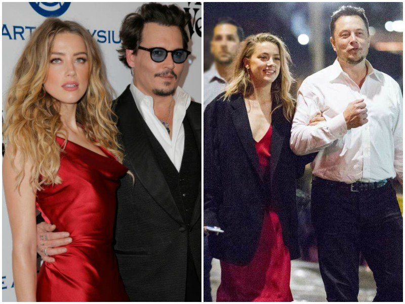 johnny depp says ex wife amber heard cheated on him with elon musk