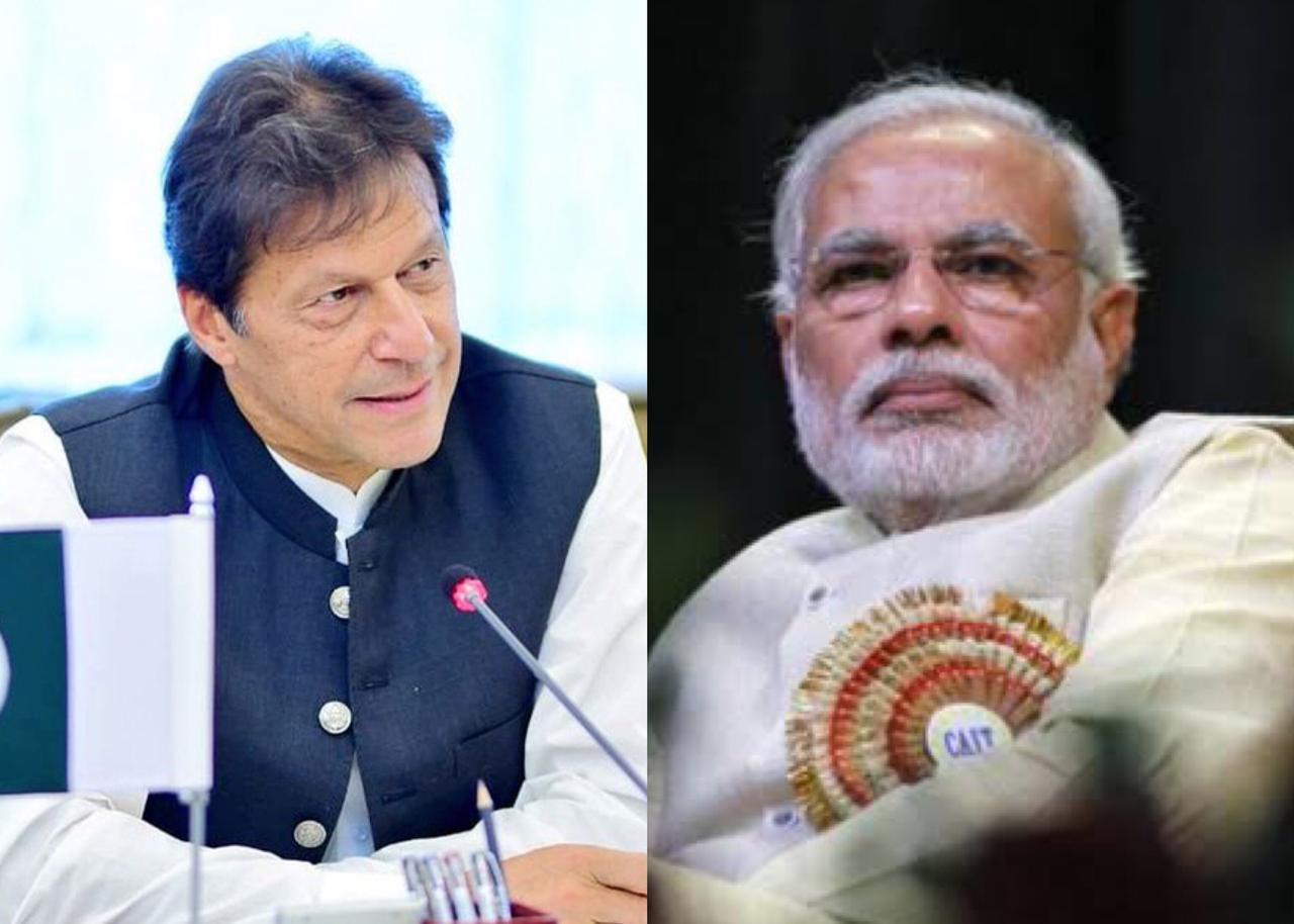 File photos of PM Imran Khan [L] and Indian Premier Narendra Modi [R]. PHOTO: PIT/ Reuters