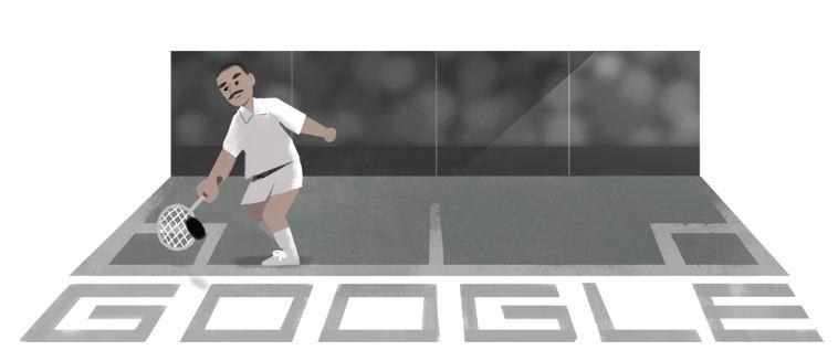 google doodle pays homage to legendary squash champion hashim khan