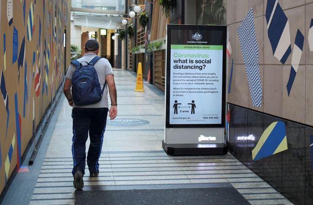 australia sees more signs of coronavirus spread stabilising