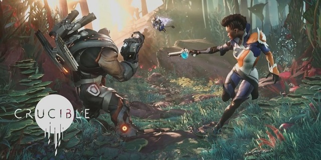 amazon s first sci fi shooter game crucible to release in may