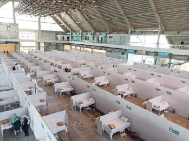 COVID-19 patients from 27 districts are quarantined in isolation wards, says the official.PHOTO: FILE