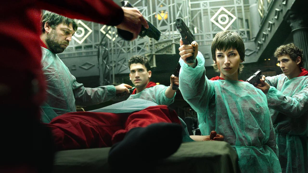 money heist 4 review disappointing drag and shallow